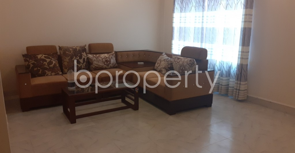 Lounge - 3 Bed Apartment to Rent in Gulshan, Dhaka - 1991605