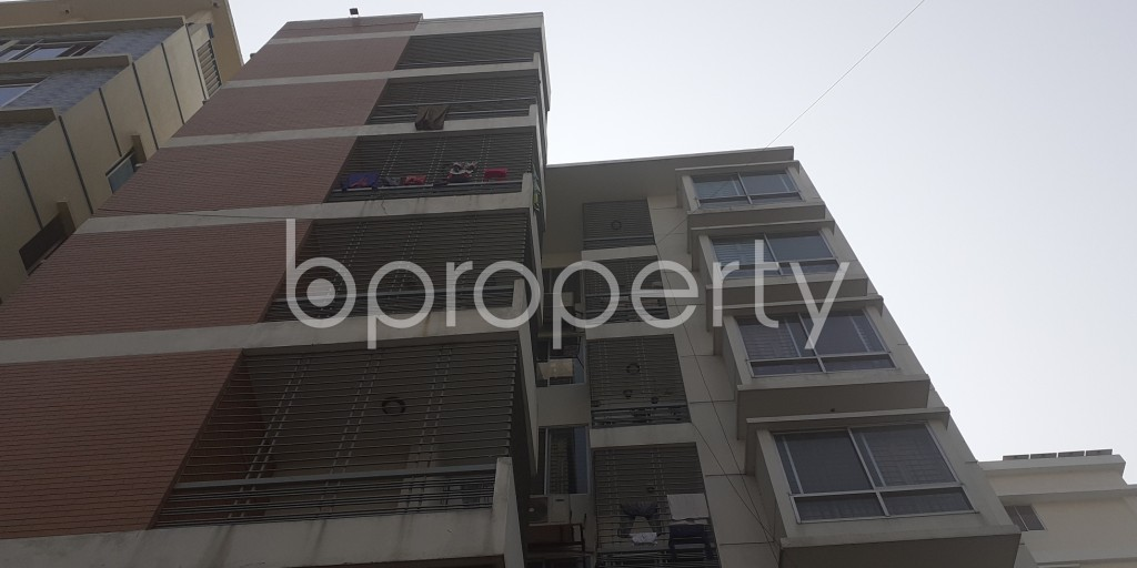 Front view - 3 Bed Apartment for Sale in Bashundhara R-A, Dhaka - 1991633