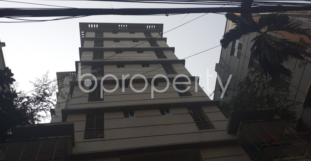 Front view - 3 Bed Apartment for Sale in Bashundhara R-A, Dhaka - 1991948