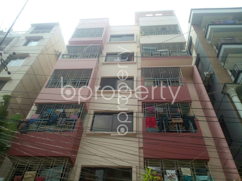 Front view - 2 Bed Apartment for Sale in Uttara, Dhaka - 1992076
