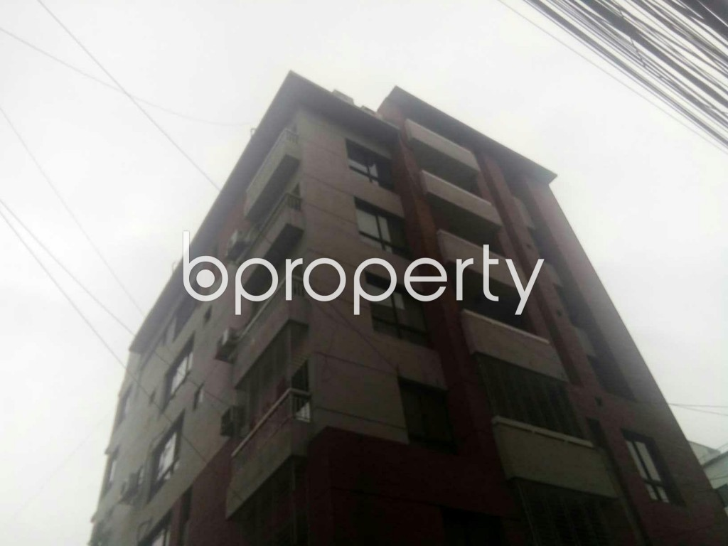 Front view - 3 Bed Apartment for Sale in Uttara, Dhaka - 1992077