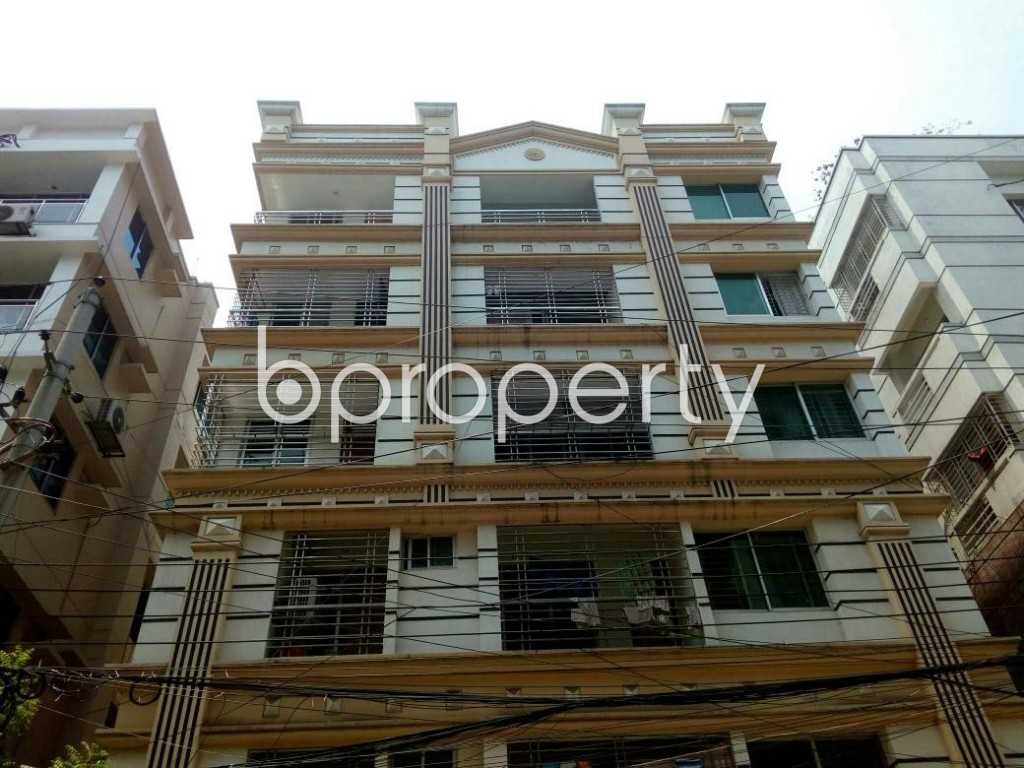 Front view - 3 Bed Apartment for Sale in Mirpur, Dhaka - 1992099