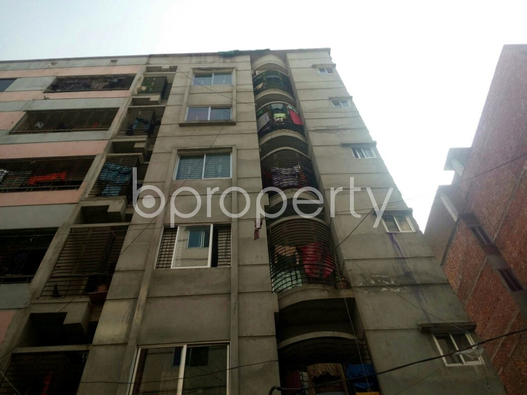 Front view - 2 Bed Apartment for Sale in Mirpur, Dhaka - 1992804