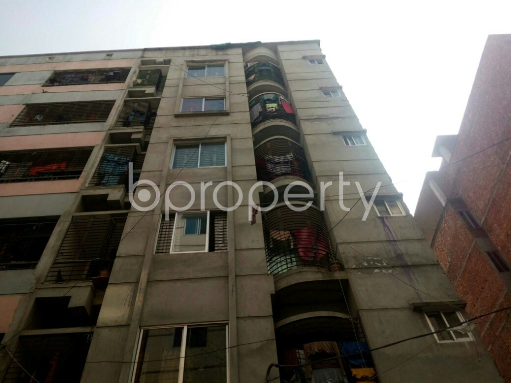 Front view - 4 Bed Apartment for Sale in Mirpur, Dhaka - 1992805