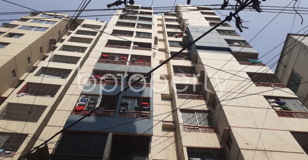 Front view - 3 Bed Apartment for Sale in Dhanmondi, Dhaka - 1992883
