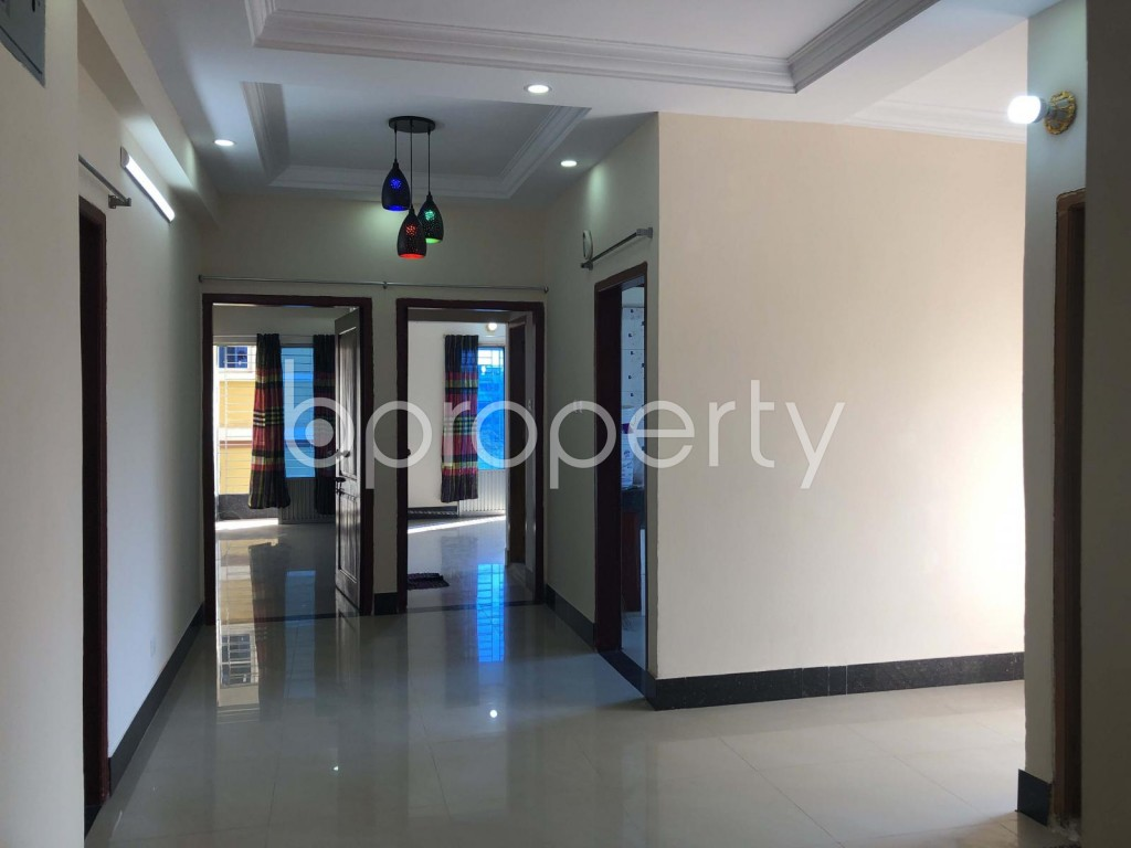 Dining area - 3 Bed Apartment for Sale in 7 No. West Sholoshohor Ward, Chattogram - 1943874