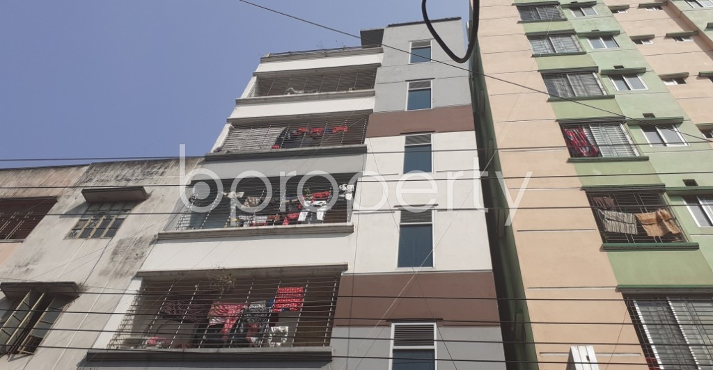 Front view - 3 Bed Apartment for Sale in Mohammadpur, Dhaka - 1993859