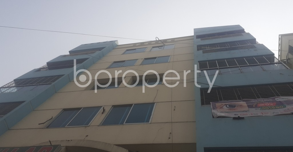 Front view - 3 Bed Apartment for Sale in Uttara, Dhaka - 1994056