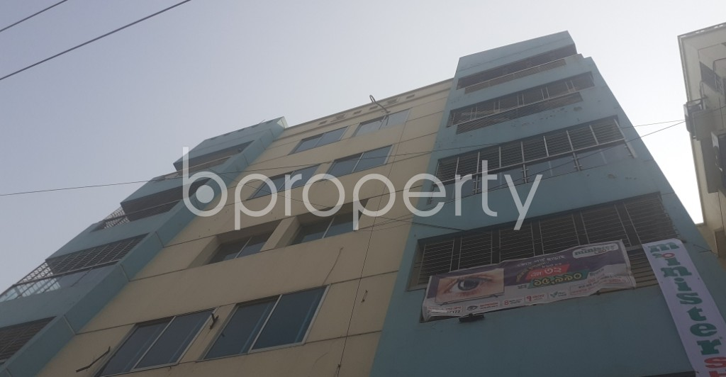 Front view - 3 Bed Apartment for Sale in Uttara, Dhaka - 1994057
