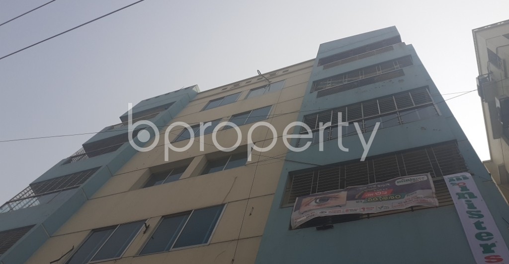 Front view - 3 Bed Apartment for Sale in Uttara, Dhaka - 1994058