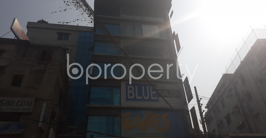 Front view - Office for Sale in Bashundhara R-A, Dhaka - 1994156