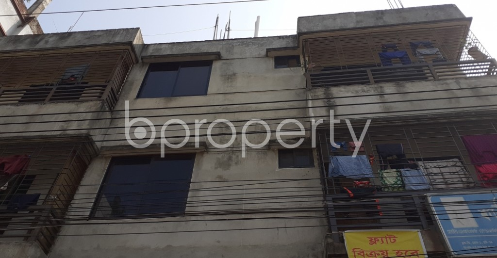 Front view - 3 Bed Apartment for Sale in Mirpur, Dhaka - 1994448