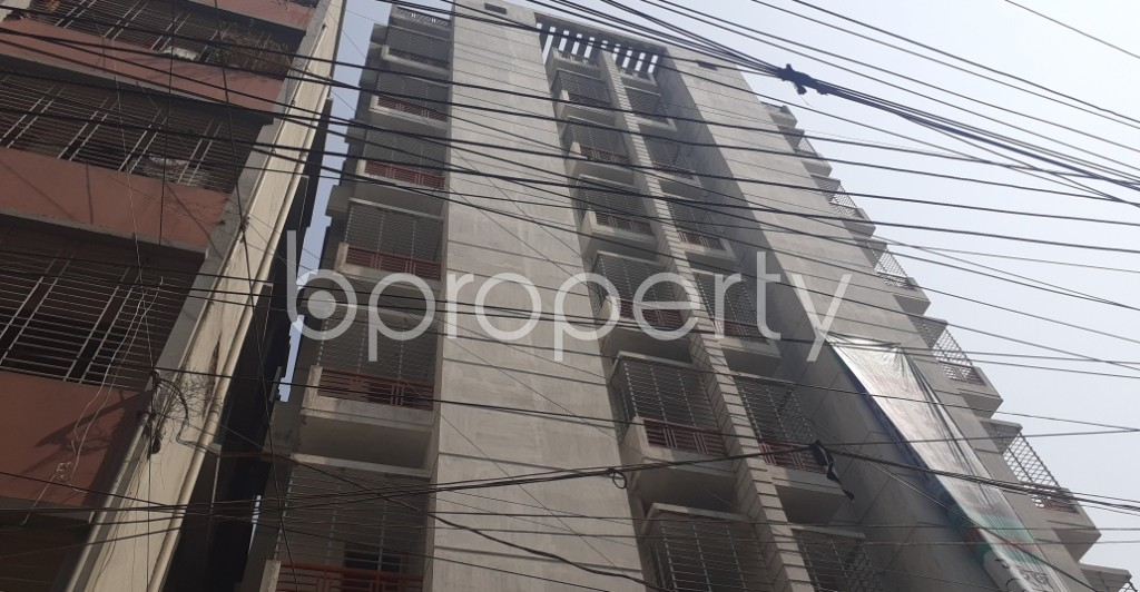 Front view - 3 Bed Apartment for Sale in Mohammadpur, Dhaka - 1994619