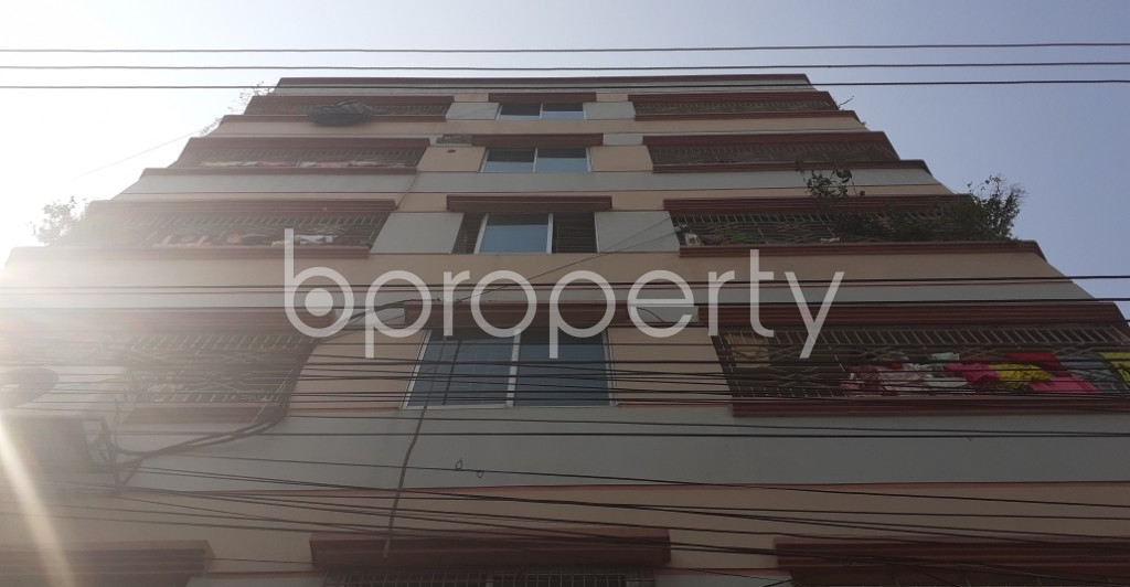 Front view - 3 Bed Apartment for Sale in Mirpur, Dhaka - 1994652