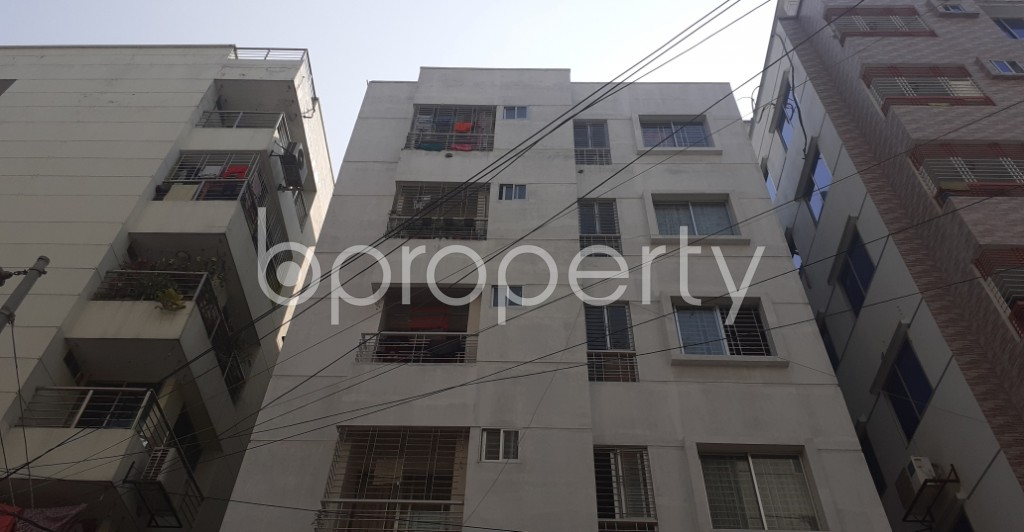 Front view - 2 Bed Apartment for Sale in Uttara, Dhaka - 1994710