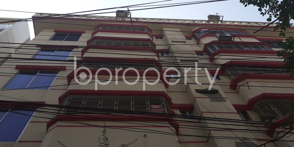 Front view - 1 Bed Apartment to Rent in Bashundhara R-A, Dhaka - 1994813