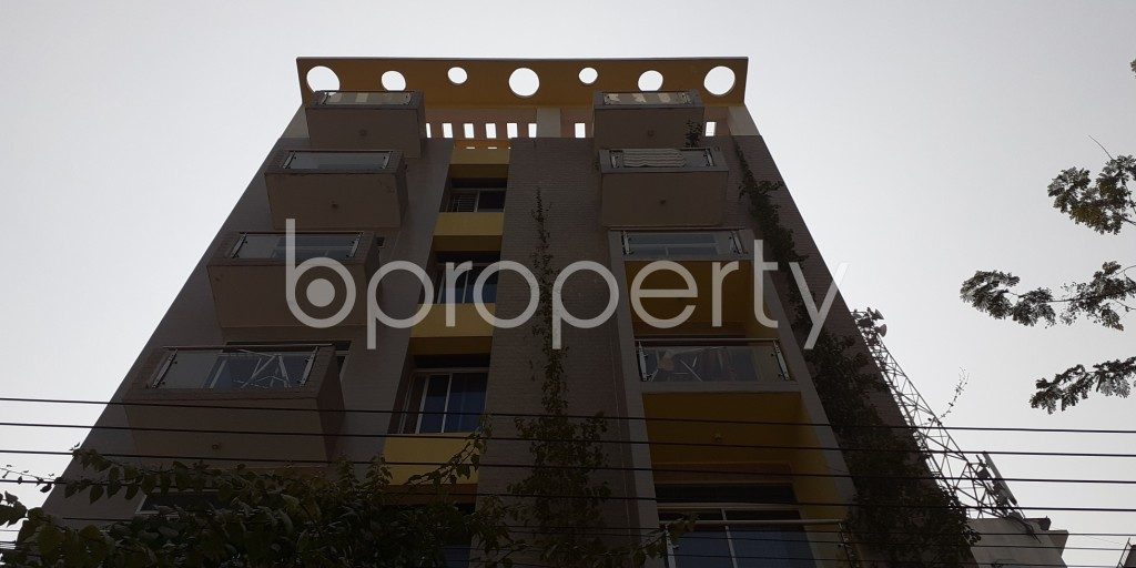 Front view - 2 Bed Apartment to Rent in Bashundhara R-A, Dhaka - 1994814