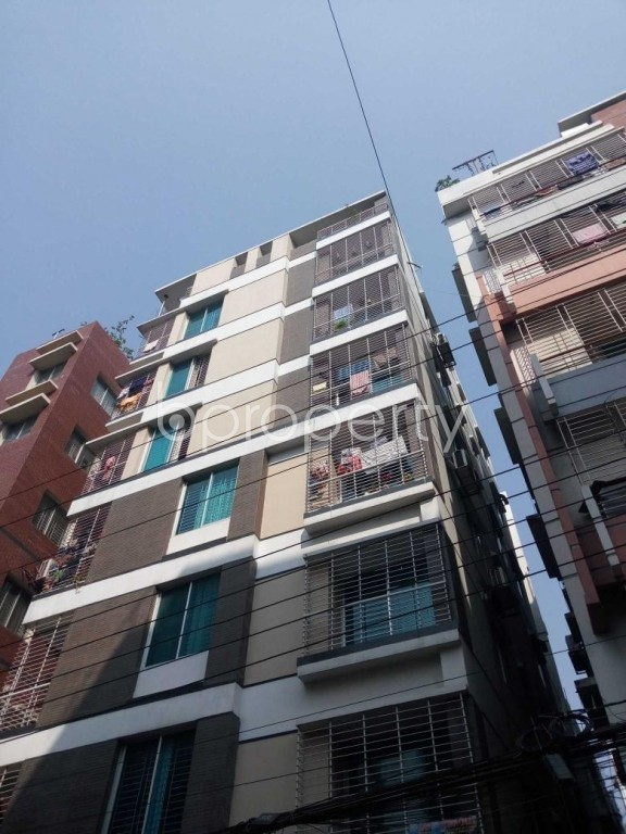 Front view - 3 Bed Apartment for Sale in Uttara, Dhaka - 1994871