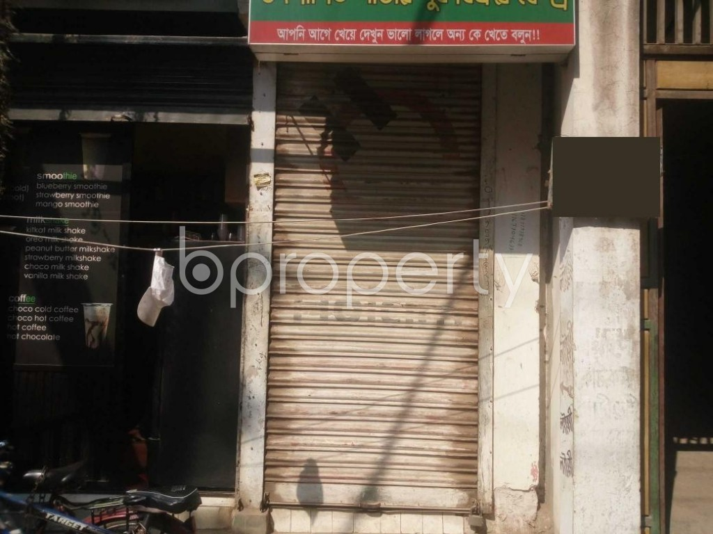 Front view - Shop to Rent in Banasree, Dhaka - 1994971