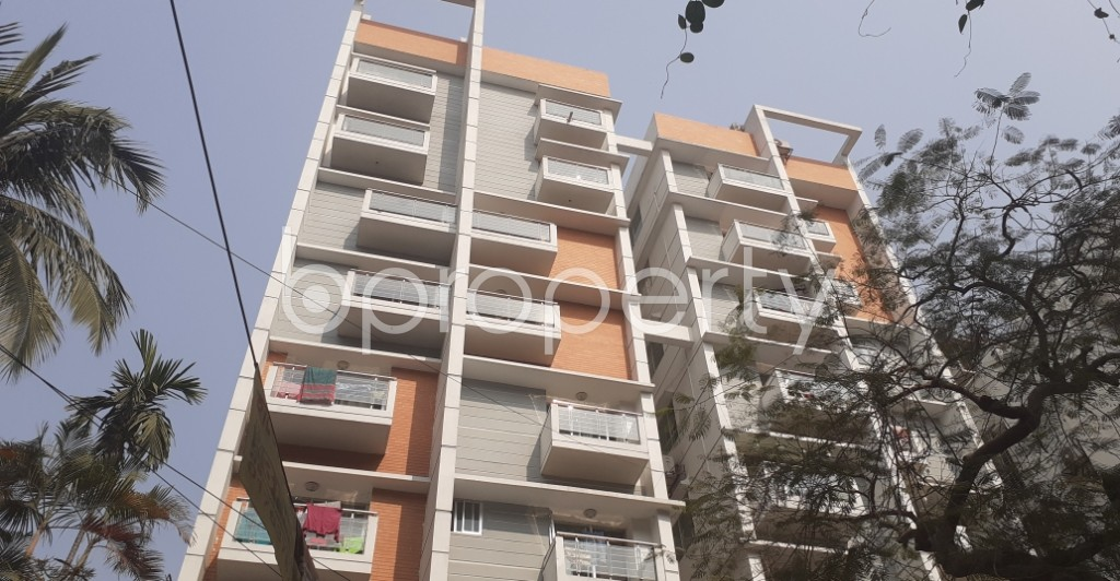Front view - 3 Bed Apartment for Sale in Dhanmondi, Dhaka - 1995023
