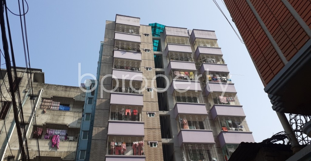 Front view - 3 Bed Apartment for Sale in Mohakhali, Dhaka - 1995066