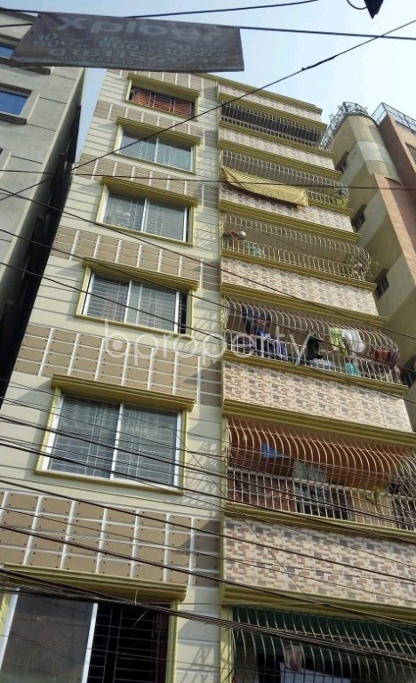 Front view - 3 Bed Apartment for Sale in Lalbagh, Dhaka - 1995097
