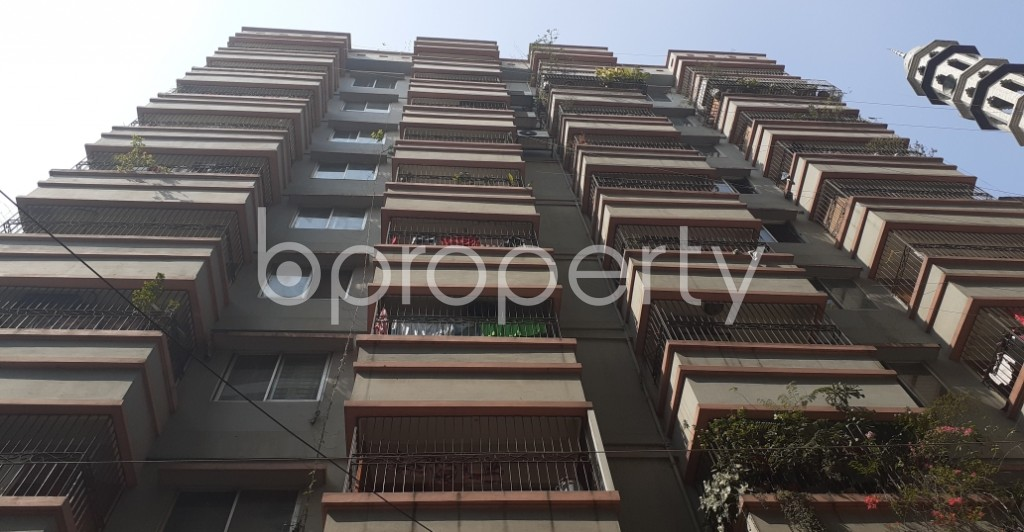 Front view - 2 Bed Apartment for Sale in Motijheel, Dhaka - 1995123