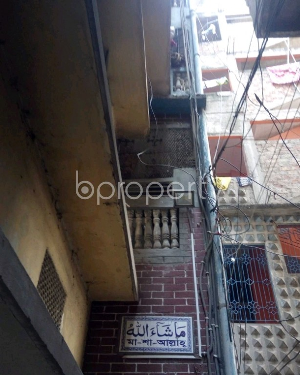 Front view - 3 Bed Apartment for Sale in Lalbagh, Dhaka - 1995200