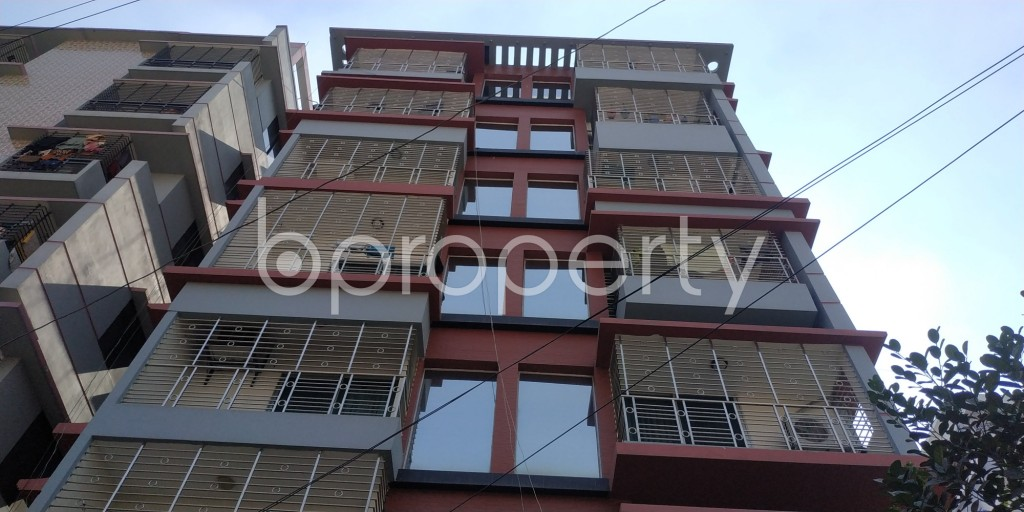 Front view - 2 Bed Apartment to Rent in Bashundhara R-A, Dhaka - 1995205
