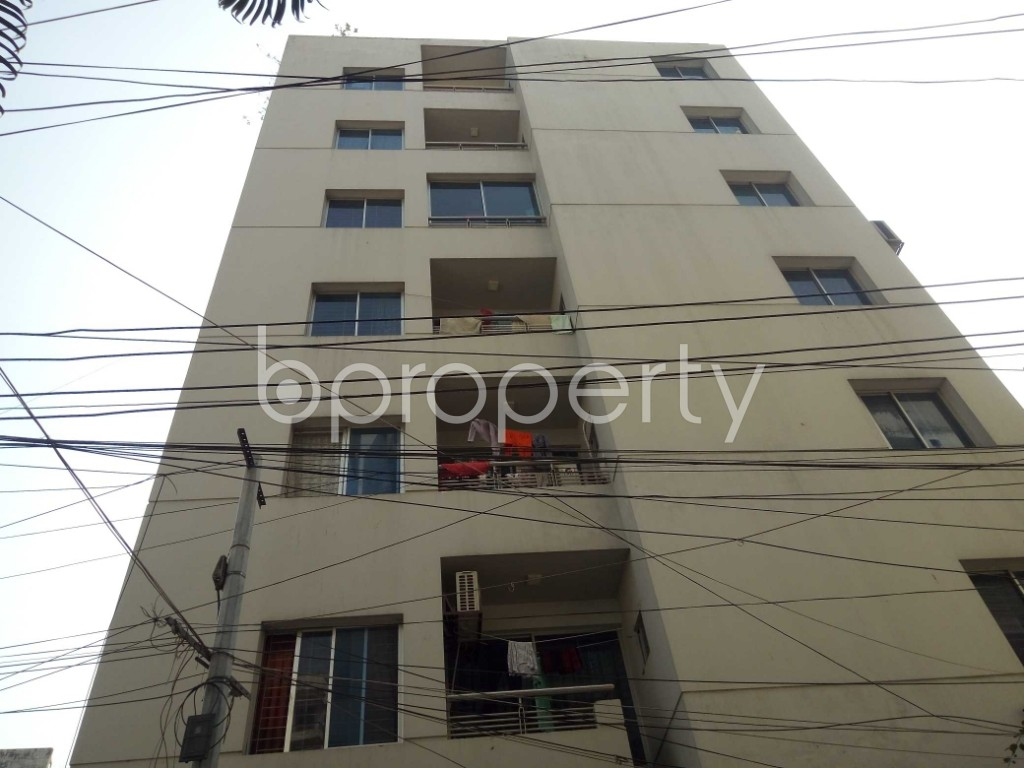 Front view - 3 Bed Apartment for Sale in Tejgaon, Dhaka - 1995320