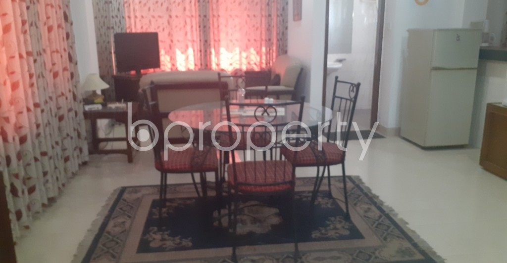 Dine/Dining - 1 Bed Apartment to Rent in Gulshan, Dhaka - 1995335