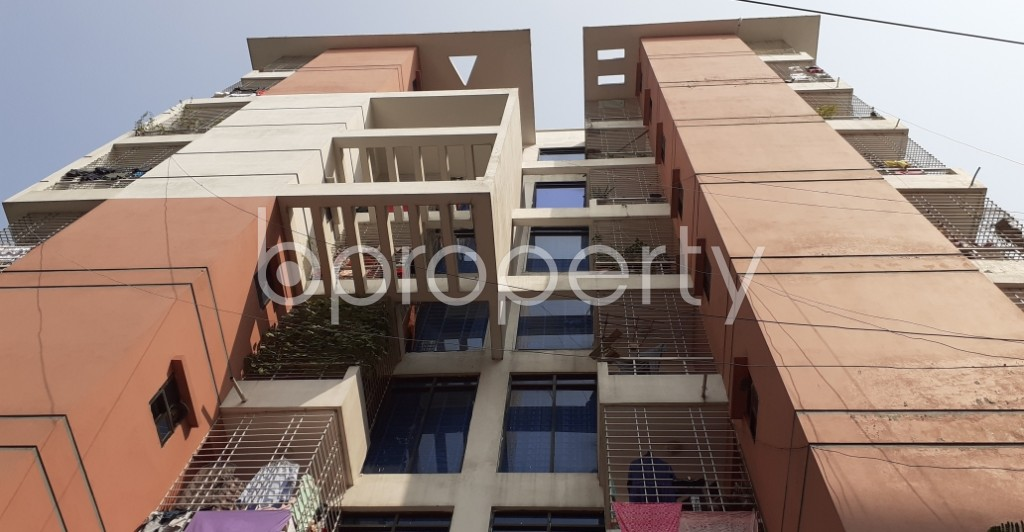 Front view - 3 Bed Apartment for Sale in Dakshin Khan, Dhaka - 1995425