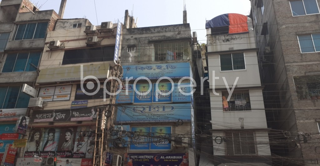 Front view - Office to Rent in Malibagh, Dhaka - 1995450