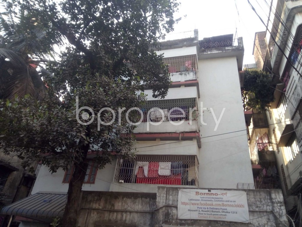 Outside view - 2 Bed Apartment to Rent in Banani, Dhaka - 1995496