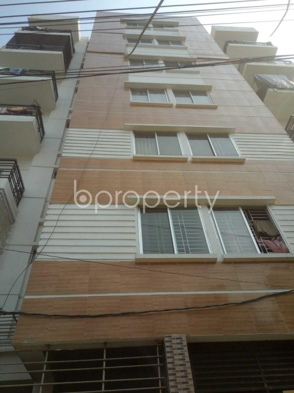 Front view - 3 Bed Apartment to Rent in Badda, Dhaka - 1995514