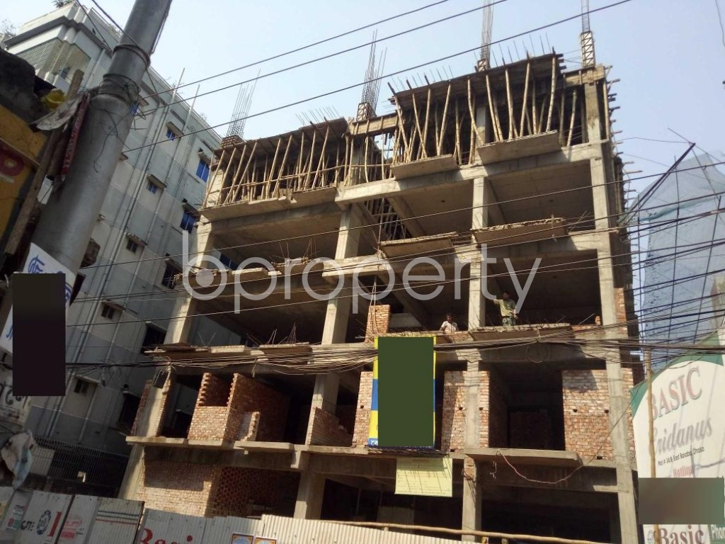 Front view - 3 Bed Apartment for Sale in Bashabo, Dhaka - 1995571