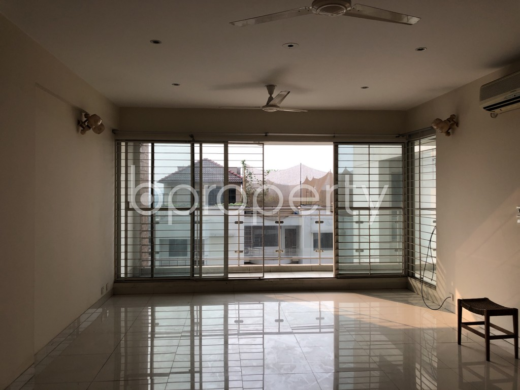 Dining area - 3 Bed Apartment for Sale in Banani, Dhaka - 1988784