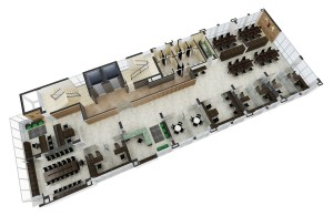 3D Floor Plan with Interior