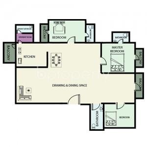 Apartment listing- Banani