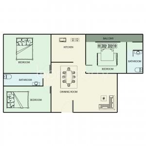 Apartment listing- Badda