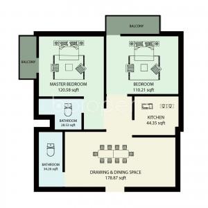 Apartment listing- Banasree