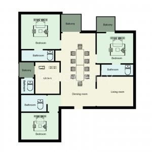 Apartment Listing-Bashundhara
