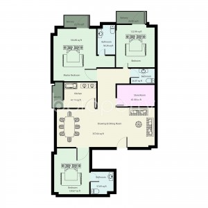 apartment-listing- Bashundhara