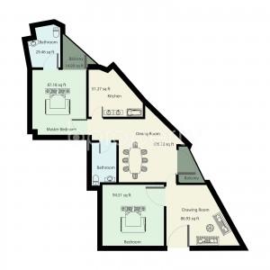 apartment-listing- Maghbazar