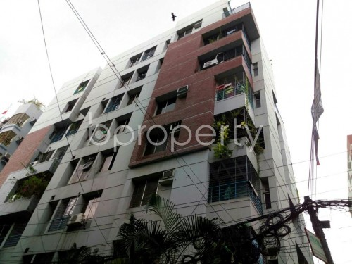 Front view - 3 Bed Apartment for Sale in Lalmatia, Dhaka - 1794899