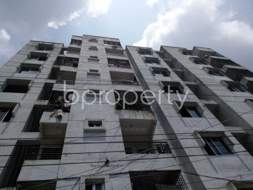 Outside view - 3 Bed Apartment for Sale in Hazaribag, Dhaka - 1805193