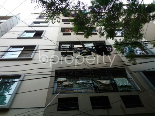 Front view - 3 Bed Apartment for Sale in Lalmatia, Dhaka - 1805889