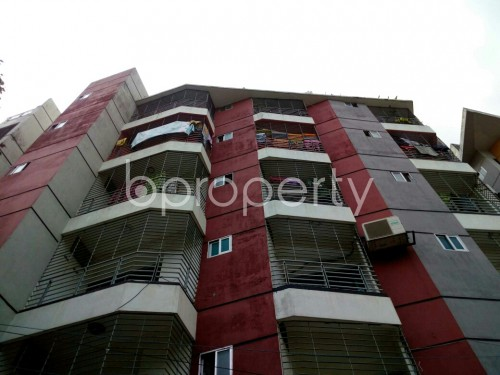 Front view - 4 Bed Apartment for Sale in Cantonment, Dhaka - 1807674