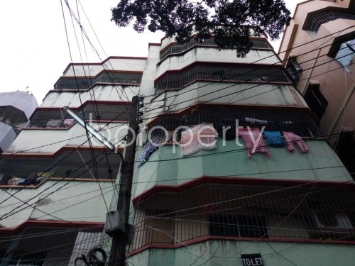 Outside view - 2 Bed Apartment to Rent in Kuril , Dhaka - 1811396