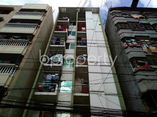 Front view - 2 Bed Apartment for Sale in Lalmatia, Dhaka - 1812999